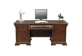 "Winners Only Classic Cherry 72"" Flattop Desk"