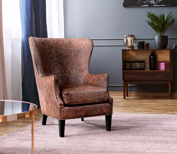 Picture of a Leather Chair by Linea