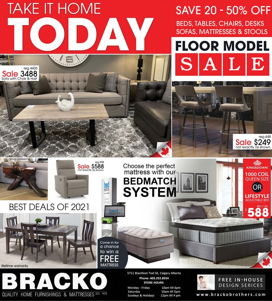 Furniture Flyer - March 2021