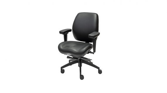 Balance Deluxe Mid-Back Ergonomic Office Chair